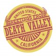 Greetings from Death Valley stamp — Stock Vector #29127903