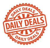 Daily Deals stamp — Stok Vektör
