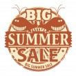 Big Summer Sale stamp — Stock Vector