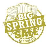 Big Spring Sale stamp — Stock Vector