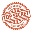 Top Secret stamp — Stock Vector
