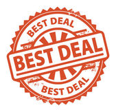 Best Deal stamp — Stock Vector