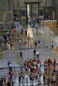 Tourists visiting the Hagia Sophia — Stock Photo