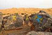 Sahara Desert, Morocco — Stock Photo