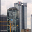 Skyscrapers of Frankfurt — Stock Photo