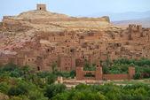Atlas Dağları'nda eski köy — Stok fotoğraf
