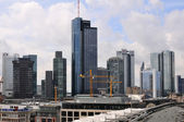 Skyscrapers of Frankfurt — Stock Photo