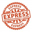 Express stamp — Stock Vector