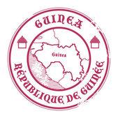 Sello de guinea — Vector de stock