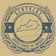 Stockvektor : Kentucky, USstamp
