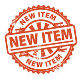 New Item stamp — Stock Vector