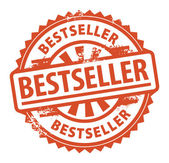 Bestseller stamp — Vector de stock