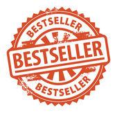 Bestseller stamp — Stock Vector