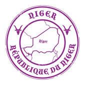 Niger-stempel — Stockvektor