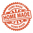 Home Made stamp — Stock Vector