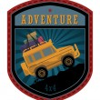 Stock Vector: Off-road adventure