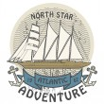 Atlantic Adventure stamp — Stock Vector #32421559