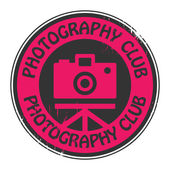 Ikony nebo logo fotografie klubu — Stockvektor