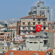 Panoramic view of Istanbul city from Galata Tower — Stock Photo