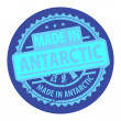 Made in Antarctic label — Stock Vector