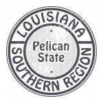 timbre en Louisiane, région sud — Vecteur #34590883