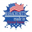 Made in Massachusetts — Stock Vector