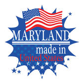 Made in Maryland — Stock Vector