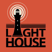 Lighthouse icon or sign — Vetorial Stock