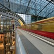Berlin Central train station — Stock Photo