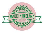 アイルランドで行われました。 — ストックベクタ