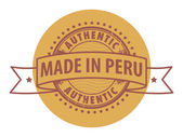 ペルーで行われました。 — ストックベクタ
