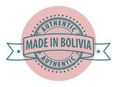 I bolivia — Stockvektor