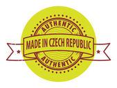 Made in Czech Republic — Stock Vector