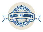 Made in Europe — Stock Vector