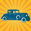 Vintage retro car — Stock Vector #37182189