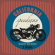 Vintage Motorcycle label — Stock Vector #39360553