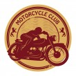 Vintage Motorcycle label — Stock Vector #40350957