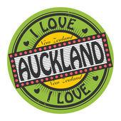 Text I Love Auckland inside — Vecteur
