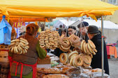 Kaziuko fair on Mar 7, 2014 in Vilnius, Lithuania — Stock Photo
