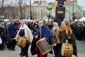 Kaziuko fair on Mar 8, 2014 in Vilnius, Lithuania — Stock Photo