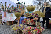 Kaziuko fair on Mar 8, 2014 in Vilnius, Lithuania — Stock Photo