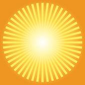 Sunburst abstract — Stock Vector
