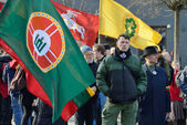 Independence Day on March 11, 2014 in Vilnius, Lithuania — Stok fotoğraf