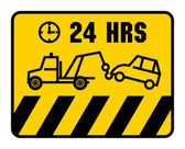 Traffic sign - no parking — Stock Vector