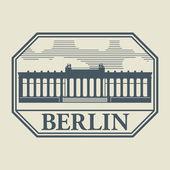 штамп или метку с словом берлин внутри — Cтоковый вектор