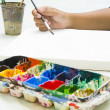 Painting with watercolor — Stock Photo #31264557