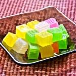 Colorful Thai dessert — Stock Photo