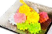 Different colors gelatin — Stock Photo