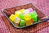 красочные тайский десерт — Стоковое фото