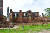 Repair Temple wall. — Stock Photo